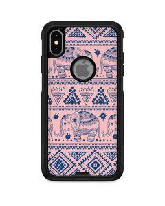 Tribal Elephant Pink Otterbox Commuter iPhone Skin