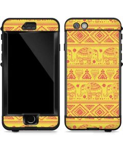 Tribal Elephant Yellow LifeProof Nuud iPhone Skin