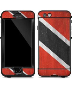 Trinidad and Tobagao Flag Distressed LifeProof Nuud iPhone Skin