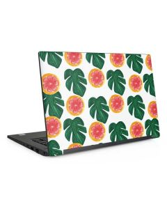 Tropical Leaves and Citrus Dell Latitude Skin