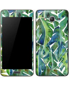 Tropical Leaves Galaxy Grand Prime Skin