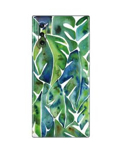 Tropical Leaves Galaxy Note 10 Skin