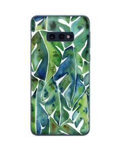 Tropical Leaves Galaxy S10e Skin