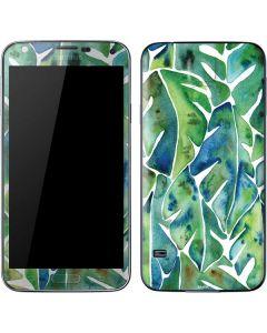 Tropical Leaves Galaxy S5 Skin