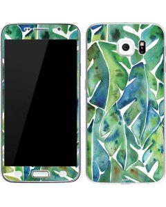 Tropical Leaves Galaxy S6 Skin