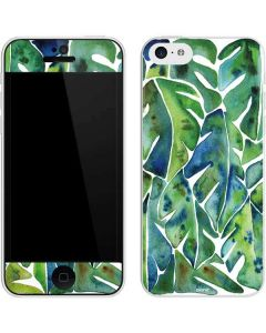 Tropical Leaves iPhone 5c Skin