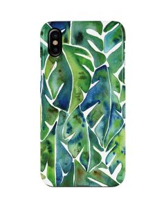 Tropical Leaves iPhone XS Max Lite Case