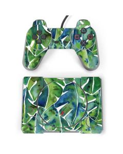 Tropical Leaves PlayStation Classic Bundle Skin