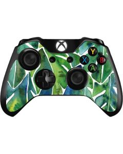 Tropical Leaves Xbox One Controller Skin