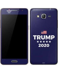 Trump 2020 Blue Galaxy Grand Prime Skin