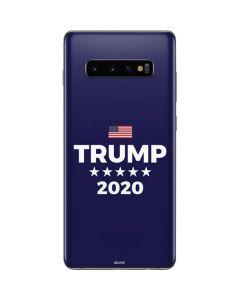 Trump 2020 Blue Galaxy S10 Plus Skin