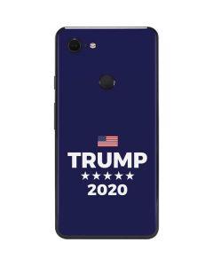 Trump 2020 Blue Google Pixel 3 XL Skin