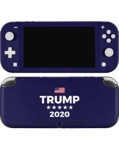 Trump 2020 Blue Nintendo Switch Lite Skin