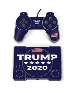 Trump 2020 Blue PlayStation Classic Bundle Skin