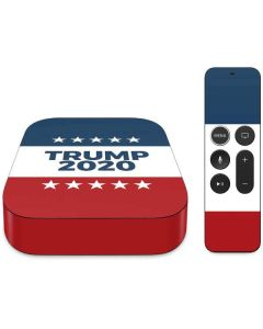 Trump 2020 Red White and Blue Apple TV Skin