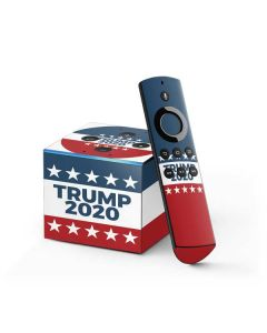 Trump 2020 Red White and Blue Fire TV Cube Skin