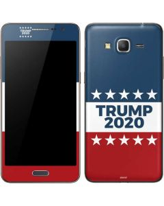 Trump 2020 Red White and Blue Galaxy Grand Prime Skin