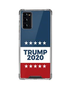 Trump 2020 Red White and Blue Galaxy Note20 5G Clear Case