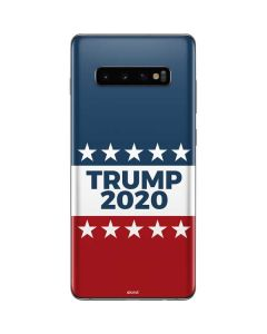 Trump 2020 Red White and Blue Galaxy S10 Plus Skin