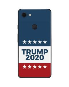 Trump 2020 Red White and Blue Google Pixel 3 XL Skin