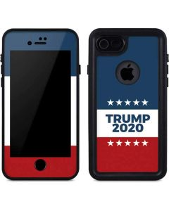 Trump 2020 Red White and Blue iPhone SE Waterproof Case