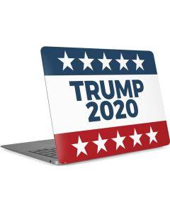 Trump 2020 Red White and Blue Apple MacBook Air Skin