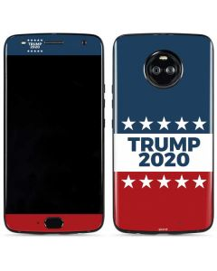 Trump 2020 Red White and Blue Moto X4 Skin