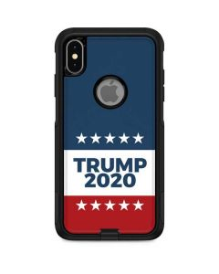 Trump 2020 Red White and Blue Otterbox Commuter iPhone Skin