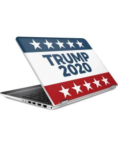 Trump 2020 Red White and Blue HP Pavilion Skin