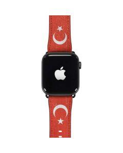 Turkish Flag Distressed Apple Watch Case