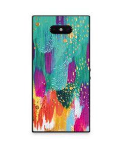 Turquoise Brush Stroke Razer Phone 2 Skin