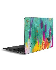 Turquoise Brush Stroke Zenbook UX305FA 13.3in Skin