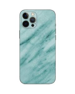Turquoise Marble iPhone 12 Pro Max Skin