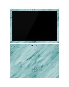 Turquoise Marble Surface Pro 7 Skin