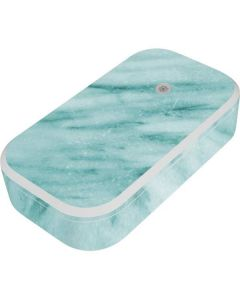 Turquoise Marble UV Phone Sanitizer and Wireless Charger Skin