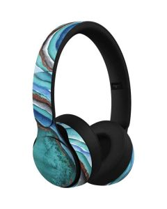 Turquoise Watercolor Geode Beats Solo Pro Skin