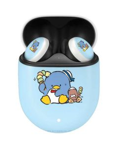 Tuxedosam and Friend with Ice Cream Google Pixel Buds Skin