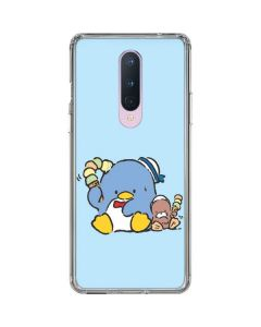 Tuxedosam and Friend with Ice Cream OnePlus 8 Clear Case