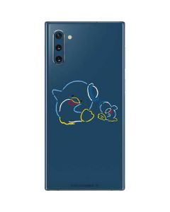 Tuxedosam Outlined Galaxy Note 10 Skin