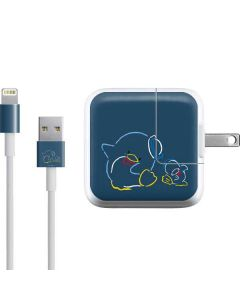 Tuxedosam Outlined iPad Charger (10W USB) Skin