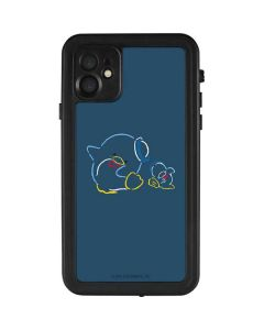 Tuxedosam Outlined iPhone 11 Waterproof Case