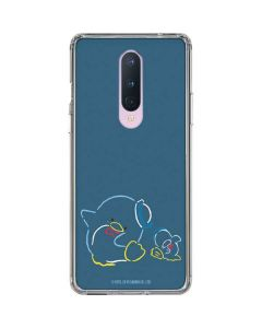 Tuxedosam Outlined OnePlus 8 Clear Case