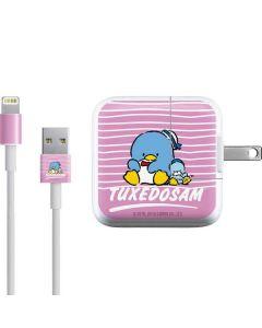 Tuxedosam Stripes iPad Charger (10W USB) Skin