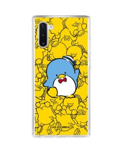 Tuxedosam Yellow Cluster Galaxy Note 10 Clear Case