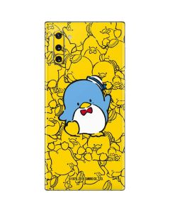 Tuxedosam Yellow Cluster Galaxy Note 10 Skin