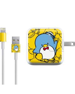 Tuxedosam Yellow Cluster iPad Charger (10W USB) Skin