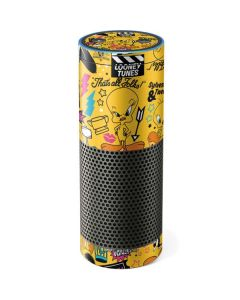 Tweety and Sylvester Patches Amazon Echo Skin