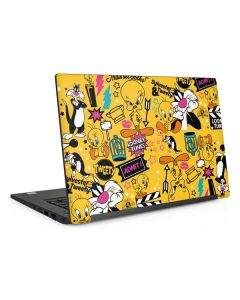 Tweety and Sylvester Patches Dell Latitude Skin