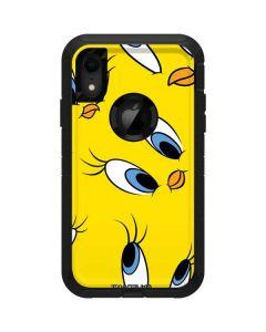 Tweety Bird Super Sized Pattern Otterbox Defender iPhone Skin