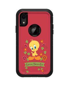 Tweety Embroidered  Otterbox Defender iPhone Skin